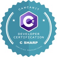 C# Certification logo