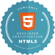 HTML5 Certification logo