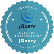 jQuery Certification logo