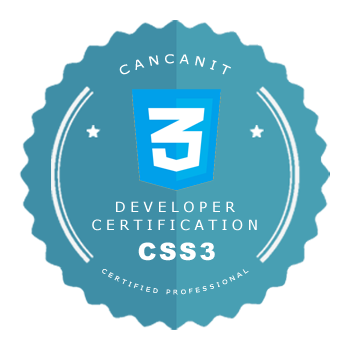 CSS3 Certification - CancanIT