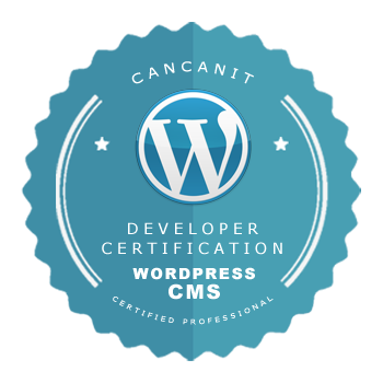 WordPress Certification - CancanIT